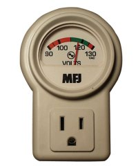 MFJ 850B A/C LINE VOLTAGE MONITOR, W/AC SOCKET