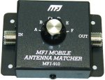 MFJ 910  MOBILE ANT. MATCHER, CAPACITVE, 200 WATTS, 10-80M
