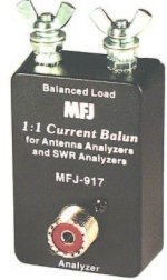 MFJ 917 BAL. LINE ADAPTOR, BAL TO UNBAL, 1.8-30MHZ