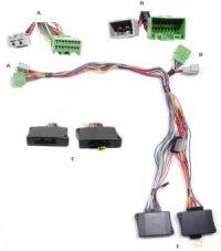 2008 land rover range rover sport hse installation parts, harness  at 2006 Range Rover Sport Wiring Harness Logic 7