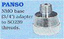 NMO base to SO239 base