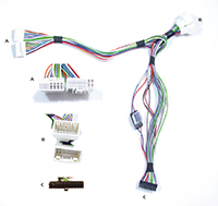 qchyu 3mk_s 2012 hyundai accent installation parts, harness, wires, kits Radio Wiring Harness Adapter at honlapkeszites.co