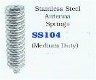 Stainless steel antenna springs (medium duty)